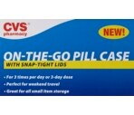 CVS Travel Size Pill Case Assorted Colors
