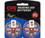 CVS Hearing Aid Batteries Size 312