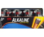 CVS Alkaline Batteries D 8-Pack