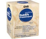 CVS Soothing Bath Treatment Packets