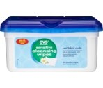 CVS Sensitive Cleansing Wipes