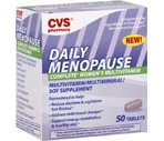 CVS Daily Menopause complete Women's Multivitamin Tablets