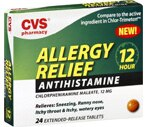 CVS Allergy Relief Antihistamine 12 Hour Tablets