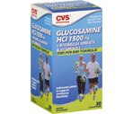 CVS Glucosamine HCI + Boswellia Serrata & Vitamin D3 Coated Tablets 1500 mg