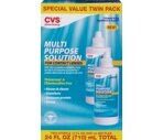 CVS Multi-Purpose Solution Twin Pack