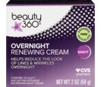 CVS Overnight Renewing Cream, Anti-Aging Complex