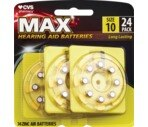 CVS Hearing Aid Batteries Size 10 24-Pack