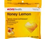 CVS Cough Drops Honey Lemon Value Size