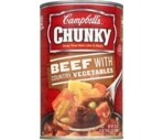 Campbell's Chunky Soup Beef With Country Vegetables