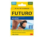 Futuro Adjustable Dual Knee Strap Support, Black