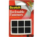Scotch 7/8-Inch Square Reclosable Fasteners