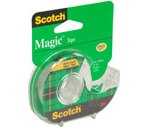 Scotch Matte Finish Magic Tape Dispenser 3/4-Inch