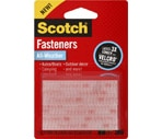 Scotch All-Weather Fasteners Clear