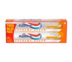 Aquafresh Extreme Clean Whitening Action Fluoride Toothpaste Twin Value Pack