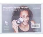 Magtech 4 x 6 Inch Magnetic Photo Pocket