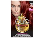Garnier Olia Oil Powered Permanent Haircolor, 6.60 Light Intense Auburn