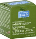 North American Hemp Co. Extreme Moisture Body Cream Concentrated Care