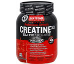 Six Star Pro Nutrition Professional Strength Creatine x3 Elite Series Fruit Punch
