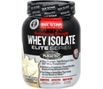 Six Star Pro Nutrition Professional Strength Whey Isolate Elite Series French Vanilla Cream