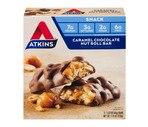 Atkins Advantage Bars Caramel Chocolate Nut Roll