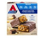 Atkins Peanut Butter Fudge Crisp Bar