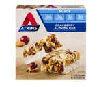 Atkins Cranberry Almond Bar