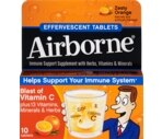 Airborne® Effervescent Tablets Zesty Orange