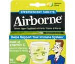 Airborne® Effervescent Tablets Lemon-Lime