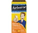 Airborne® Blast of Vitamin C Chewable Tablets Citrus Flavor