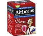 Airborne Immune Support Plus Energy Packets Natural Berry