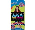Art Skills Light Up Your Poster, Poster Lights