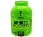 Arnold By Musclepharm Iron Mass Powder Chocolate, 80 OZ