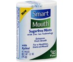 Smartmouth Sugarfree Mints Mint Flavor