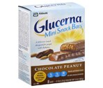 Glucerna Mini Snack Bars Chocolate Peanut