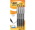 Bic Atlantis Retractable Ball Pen Medium (1.0 mm) Assorted