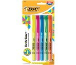 Bic Brite Liner Flourescent Highlighters Assorted Colors