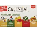 Celestial Seasonings Caffeine Free Herbal Tea Bags Sampler