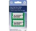 Helping Hand - 10 Single Edge Razor Blades, For Scraper