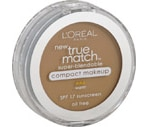 L'Oreal True Match Compact Make-Up Warm Natural Beige W4