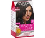 L'Oreal Healthy Look Creme Gloss Hair Color Dark Chocolate Dark Brown 4