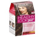 L'Oreal Healthy Look Creme Gloss Hair Color Truffle Medium Brown 5