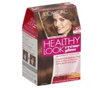 L'Oreal Healthy Look Creme Gloss Hair Color Golden Praline Light Golden Brown 6G