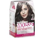 L'Oreal Paris Sublime Mousse Permanent Hair Color Pure Dark Brown 40