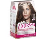 L'Oreal Paris Sublime Mousse Permanent Hair Color Golden Medium Brown 53