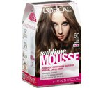 L'Oreal Paris Sublime Mousse Permanent Hair Color Pure Light Brown 60