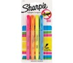 Sharpie Accent Highlighters with Bonus Uni-Ball JetStream Pen
