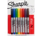 Sharpie Permanent Marker Ultra Fine Point Assorted Colors