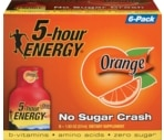 5-Hour Energy Shots Orange Flavor