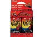 5-Hour Energy Vitamin Supplement Berry Flavor 2 Pack
