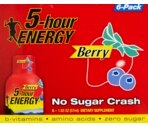 5-Hour Energy Berry Flavor 6 Pack